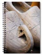 Wooden Clogs Spiral Notebook