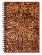Wooden Coffered Ceiling In The Alhambra Spiral Notebook