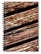 Wooden Deck Spiral Notebook
