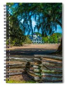 Wooden Fences Spiral Notebook