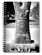 Wooden Grave Spiral Notebook