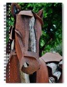 Wooden Horse15 Spiral Notebook