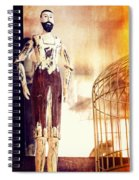 Wooden Man Spiral Notebook