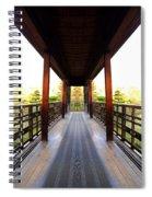Wooden Path Spiral Notebook