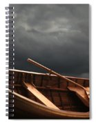 Wooden Rowboat Spiral Notebook