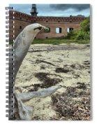 Wooden Seal Spiral Notebook