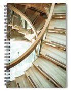 Wooden Staircase Spiral Notebook