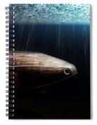 Wooden Submarine Ictineo II Dv Spiral Notebook