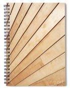 Wooden Texture Spiral Notebook