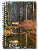 Woodland Bridge 2014 Spiral Notebook