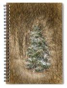 Woodland Christmas Spiral Notebook