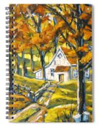 Woodland Sugar Shack By Prankearts Spiral Notebook