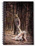 Woods Of Terror Spiral Notebook
