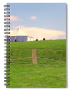 Woodstock Hill Of Peace Spiral Notebook