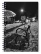Woodstock Square Xmas Eve Nite Spiral Notebook