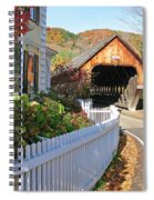 Woodstock Vermont Middle Covered Bridge 0179 Photograph By
