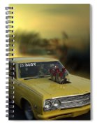 Woodward Ave Michigan Spiral Notebook