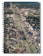 Woodward Avenue Michigan Spiral Notebook
