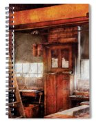 Woodworker - Old Workshop Spiral Notebook