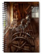 Woodworker - The Art Of Lathing Spiral Notebook
