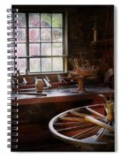 Woodworker - The Wheelwright Shop  Spiral Notebook