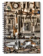 Woodworking Tools Spiral Notebook