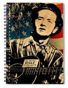 Woody Guthrie 1 Spiral Notebook