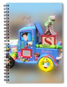 Woody Wagon Spiral Notebook