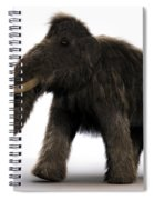 Wooly Mammoth Spiral Notebook