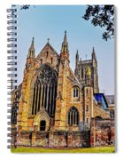 Worcester Cathedral Spiral Notebook