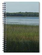 Worden Pond Afternoon Spiral Notebook