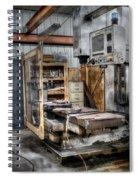 Work Station Machinst Style Spiral Notebook