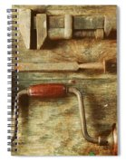 Work Tools Spiral Notebook
