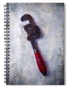 Work Wrench Spiral Notebook