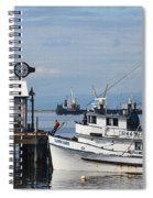 Working Boats Spiral Notebook