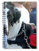 Working Dog Quite Please Spiral Notebook