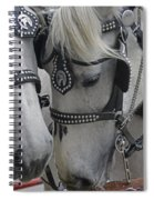 Working Horses Spiral Notebook