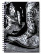 Working Man's Blues Spiral Notebook