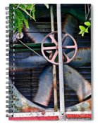 Working Old Fan Spiral Notebook