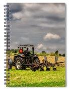 Working The Land Spiral Notebook