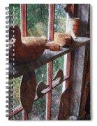 Workshop Window Spiral Notebook