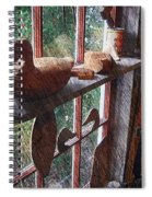 Workshop Window Spiral Notebook