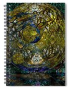 World In Crisis Calls For Peace Spiral Notebook