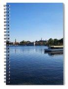 World Showcase Lagoon Walt Disney World Spiral Notebook