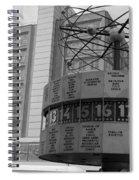 World Time Clock Berlin Spiral Notebook