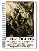 World War 1 - U. S. War Poster Spiral Notebook