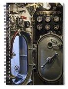 World War 2 Era Submarine Hatch - Pearl Harbor Spiral Notebook