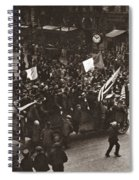 World War I Celebration Spiral Notebook