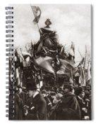 World War I Monument Spiral Notebook