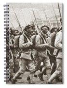 World War I Paris, C1917 Spiral Notebook